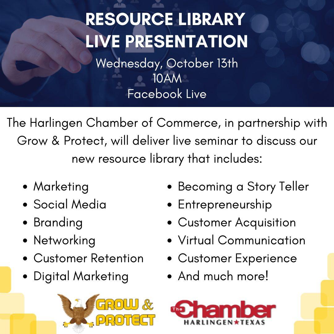 Resource Library Live Presentation