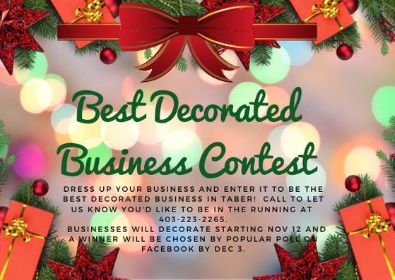 Best Decoration Business Contest Flyer