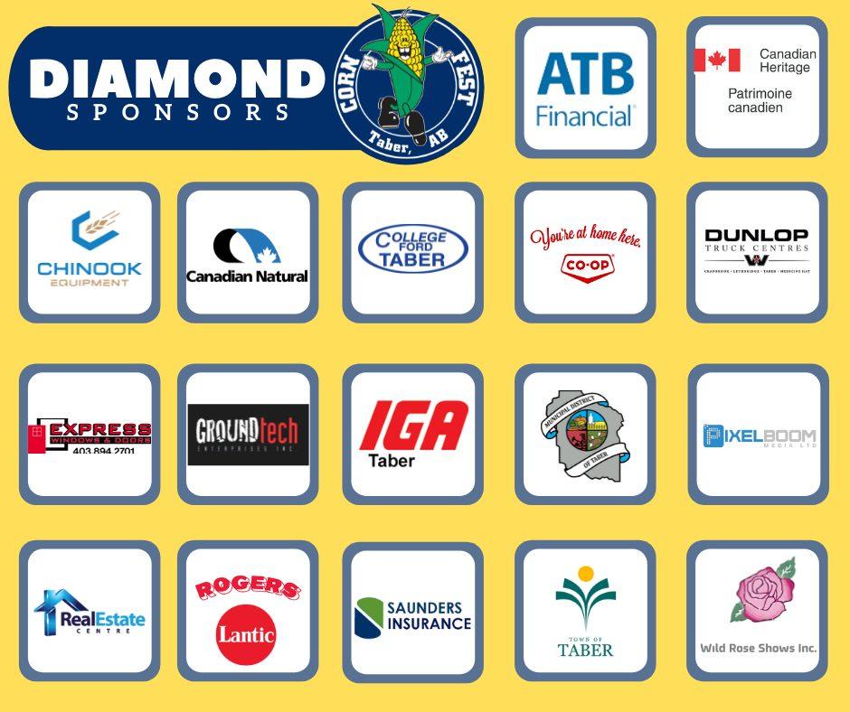 Diamond sponsors 2021 B