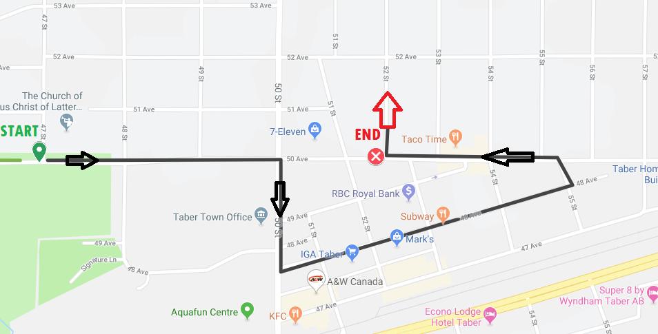 parade route 2019