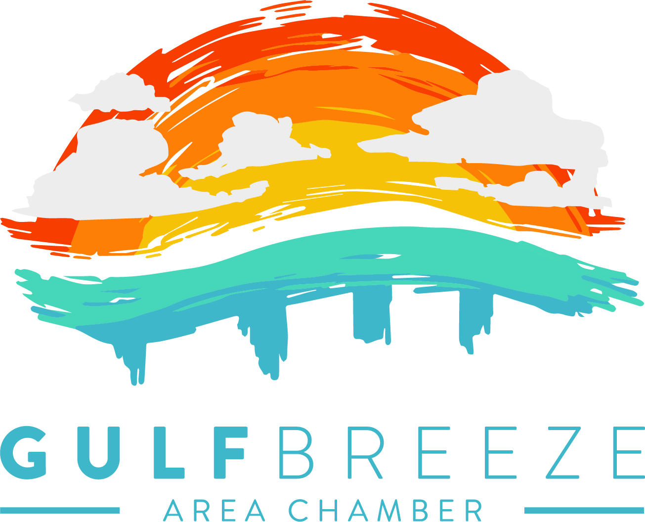 Gulf Breeze Chamber Logo without 30th