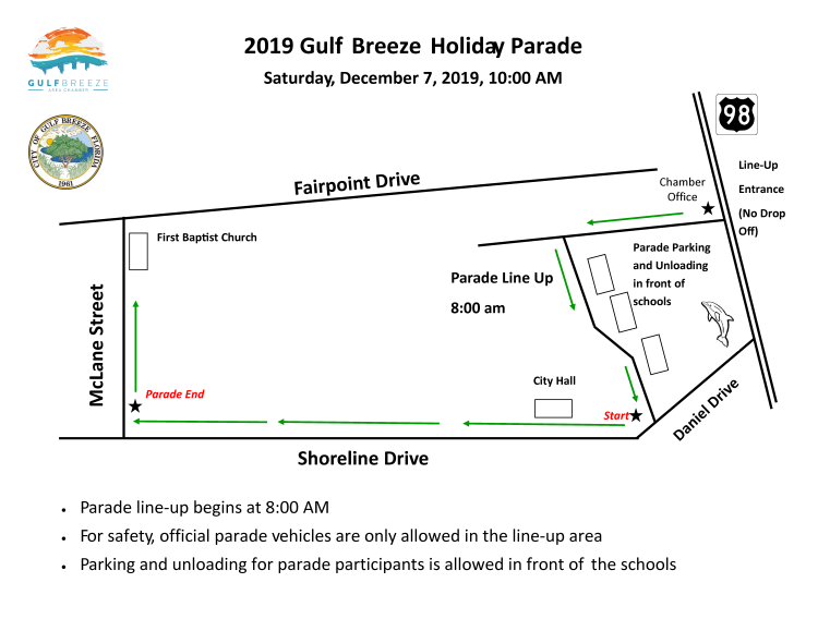 2019_Gulf_Breeze_Holiday_Parade_Map_750x579