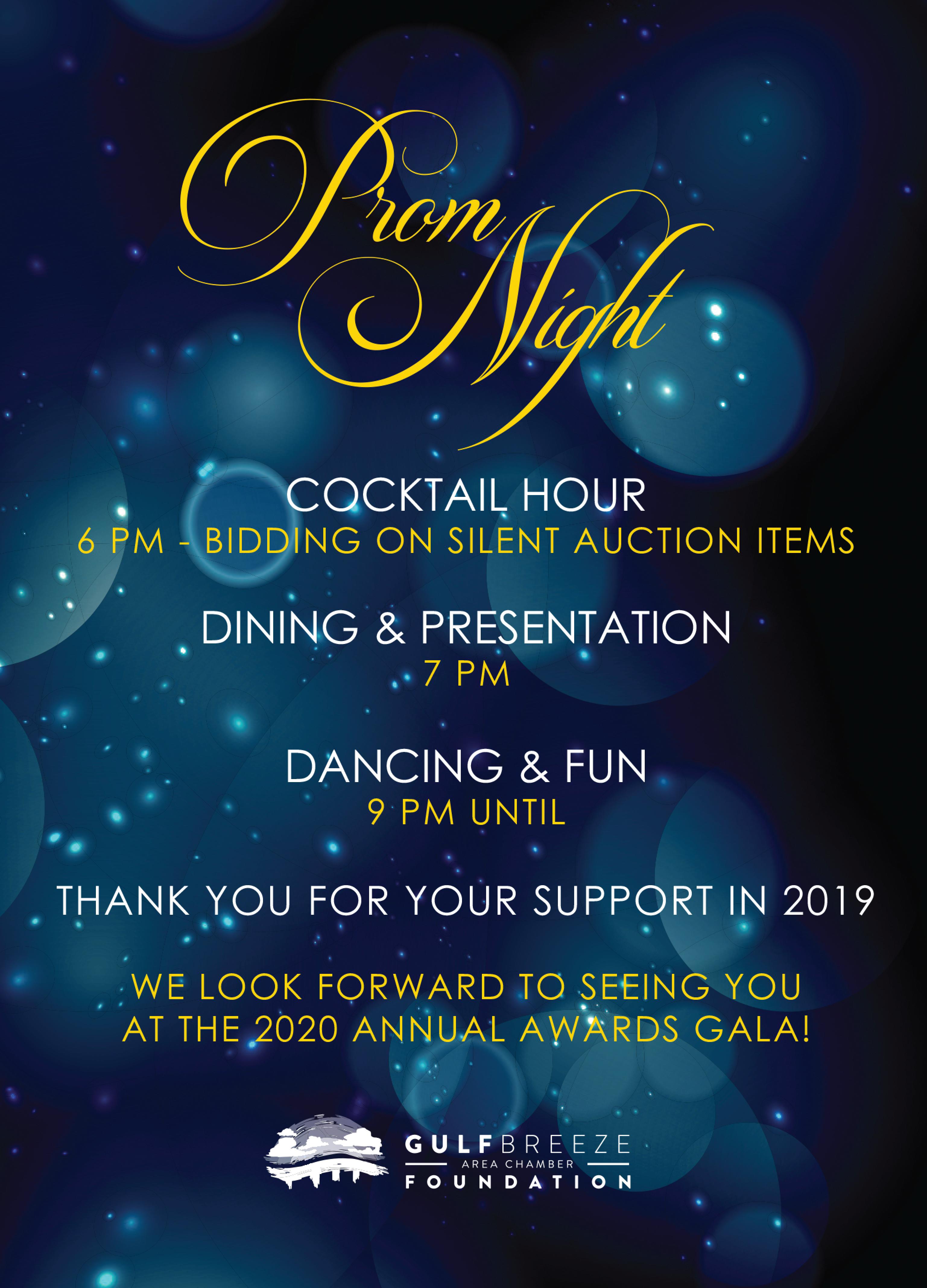 2020 Gala Invite Back