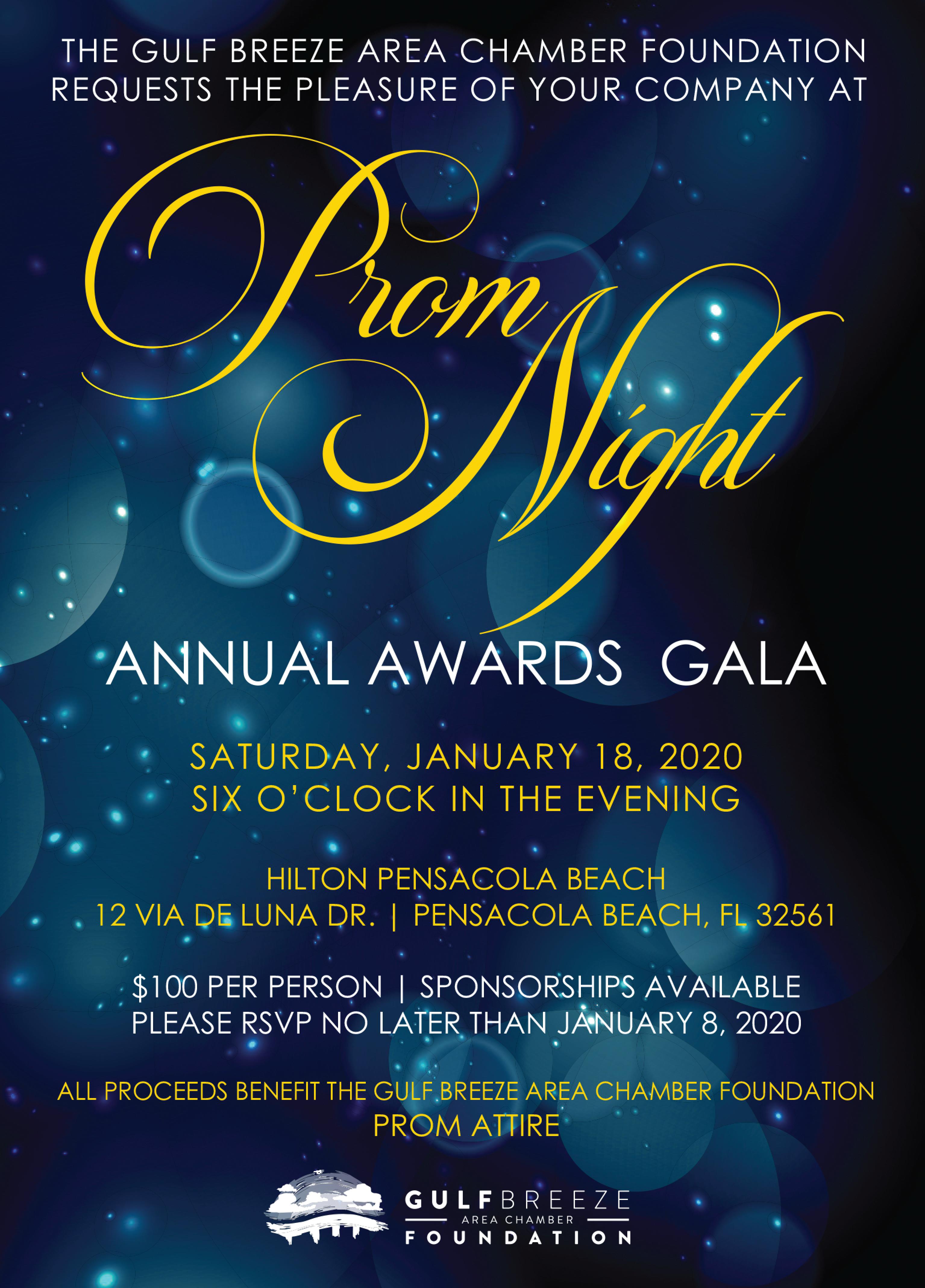 2020 Gala Invite Front