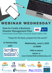 Webinar Wednesday 6.3.20 Flyer