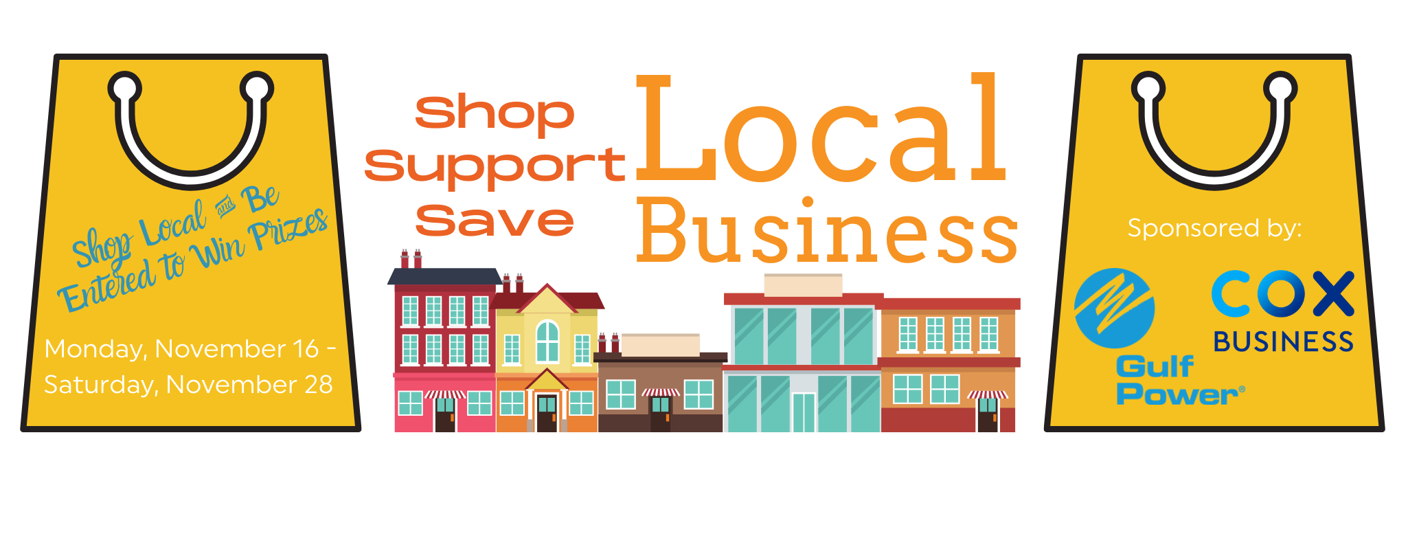 Gulf Breeze Shop Local Event Header