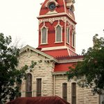 Lampasas county courthouse exterior