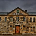 exterior historic keystone hotel