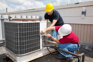 hvac repair roof inspection