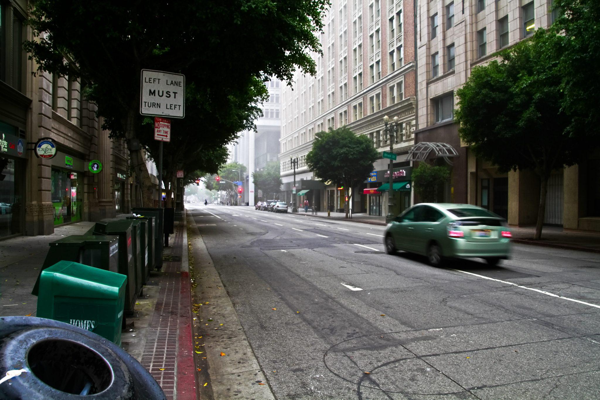 Metro bus-only lanes