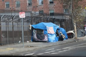 homelessness encampments