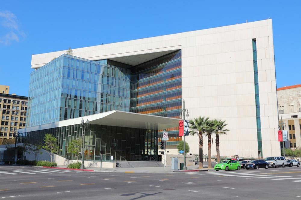 LAPD headquarters in DTLA