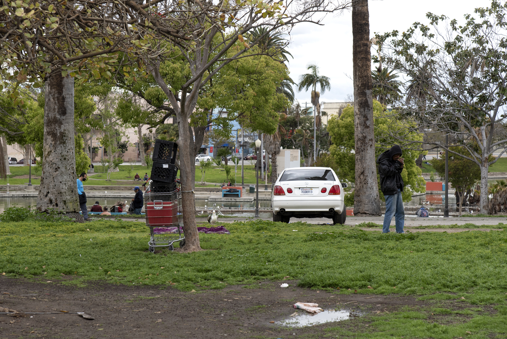 Echo Park Homelessness