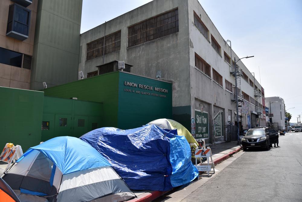 skid row homelessness
