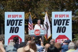 Governor Newsom recall