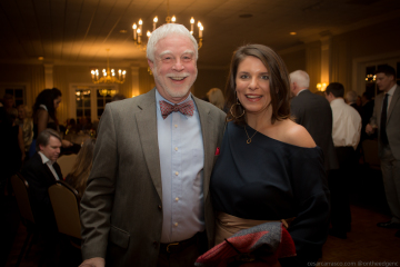 Mayor Tom Stevens and our 2019 Chamber Annual Meeting Gala and Awards Ceremony Speaker, Acclaimed Chef, TV Host, Author, Vivian Howard.
