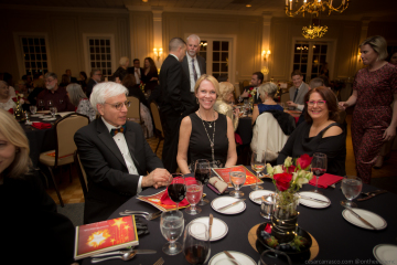 Chamber members enjoying the 2019 Annual Meeting Gala and Awards Ceremony.