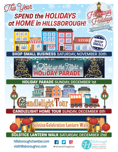 HOmetown Holiday flyer