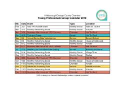 YPG events