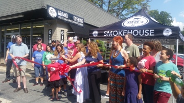 Ribbon Cutting at Steve's Garden Market & Butchery - Hillsborough.