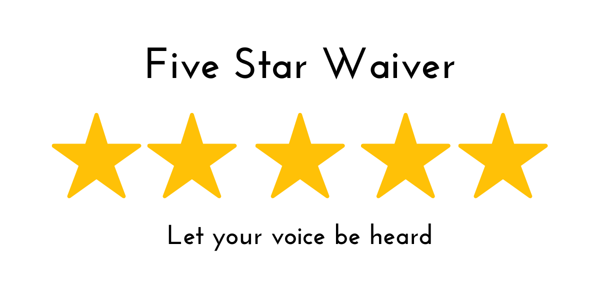 Five Star Waiver