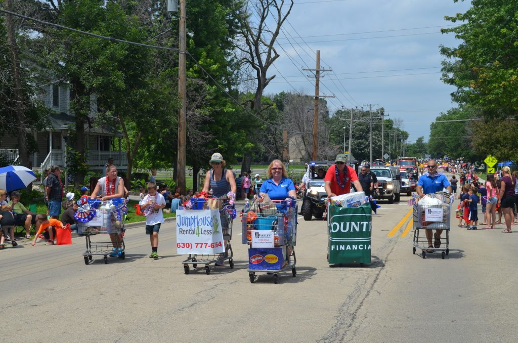 Chamber Carts in Parade