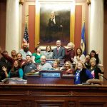 Leadership Class March 2018 at Capitol