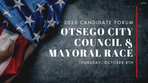2020 Candidate Forum for Otsego City Council and Mayoral Race