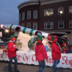 Holiday Parade Rocket Float