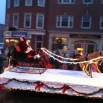 Holiday Parade Santa Float