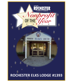 Non-profit of the year Rochester Elks Lodge #1393