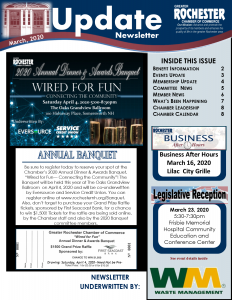 March 2020 Newsletter Cover Image
