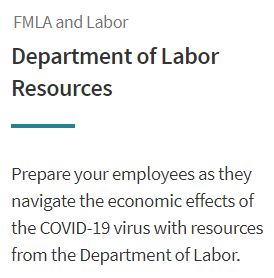 Department of Labor Resources Image