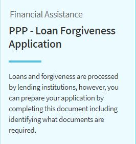 PPP Loan Forgiveness Image