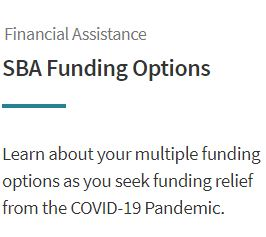 SBA Funding Options Image