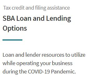 SBA Loan and Lending Options Image