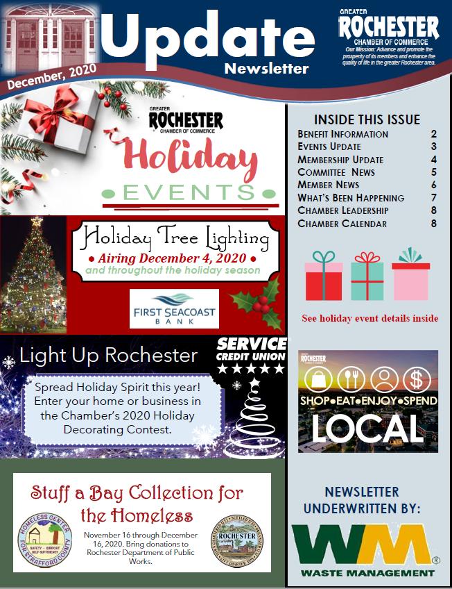 Newsletter Cover Image - December 2020