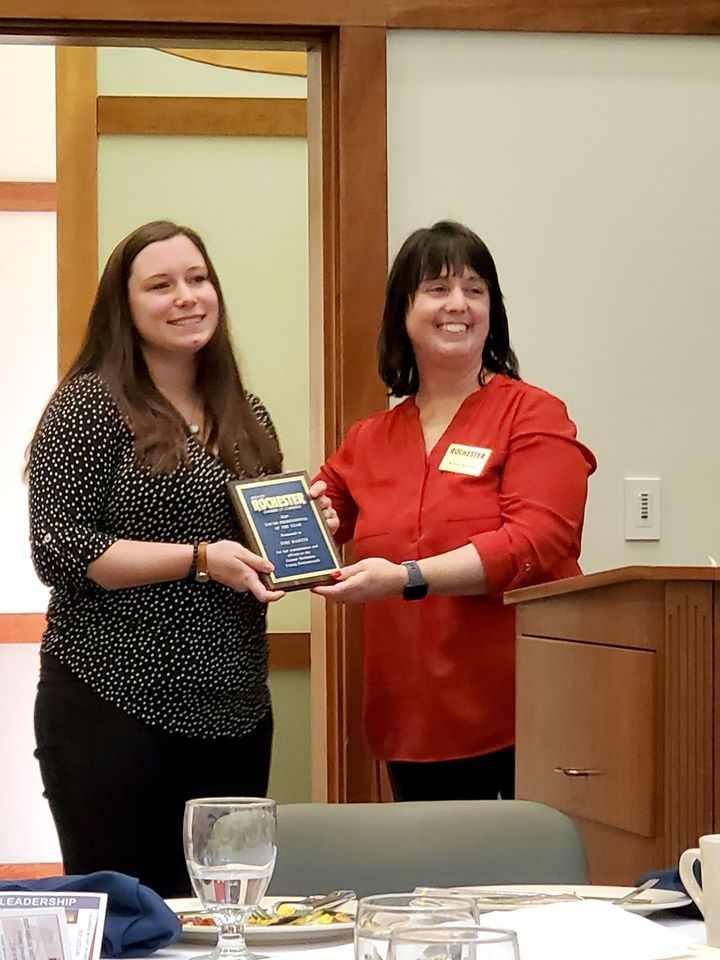 Young Professional of the Year - Tori Martin