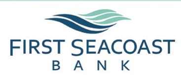 First Seacoast Bank logo
