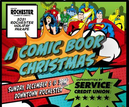 Comic Book Christmas Parade