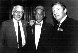1982 - Len Cane, Dorris Dabney, and Donald Katt