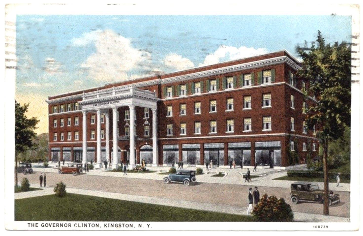 The former Governor Clinton Hotel is at 1 Albany Ave., Kingston