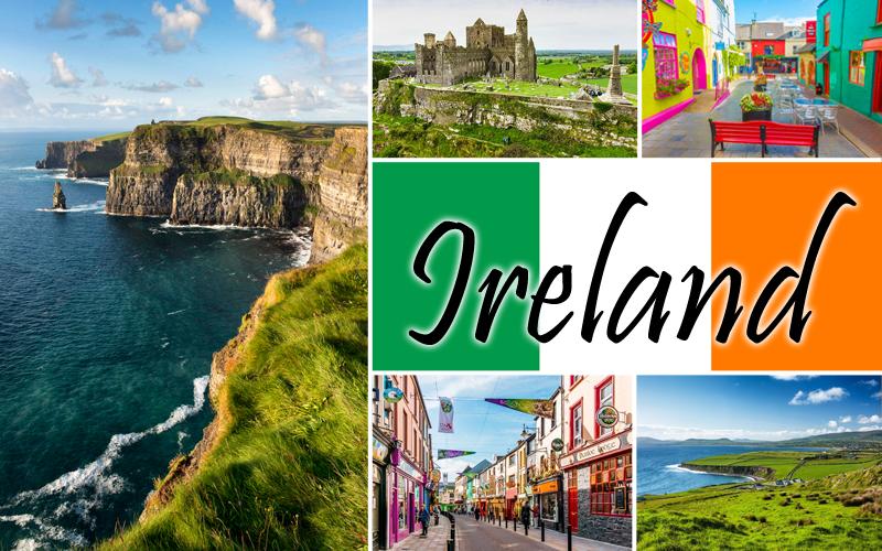 IrelandCollage
