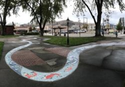 RespectFest Mosaic River located in Cenotaph Park