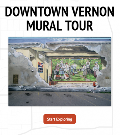 Downtown Vernon Attractions Mural Tour