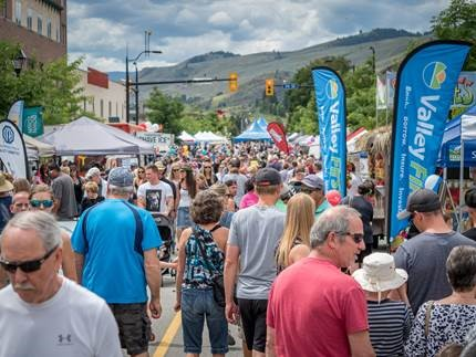 downtown placemaking through street festivals and events