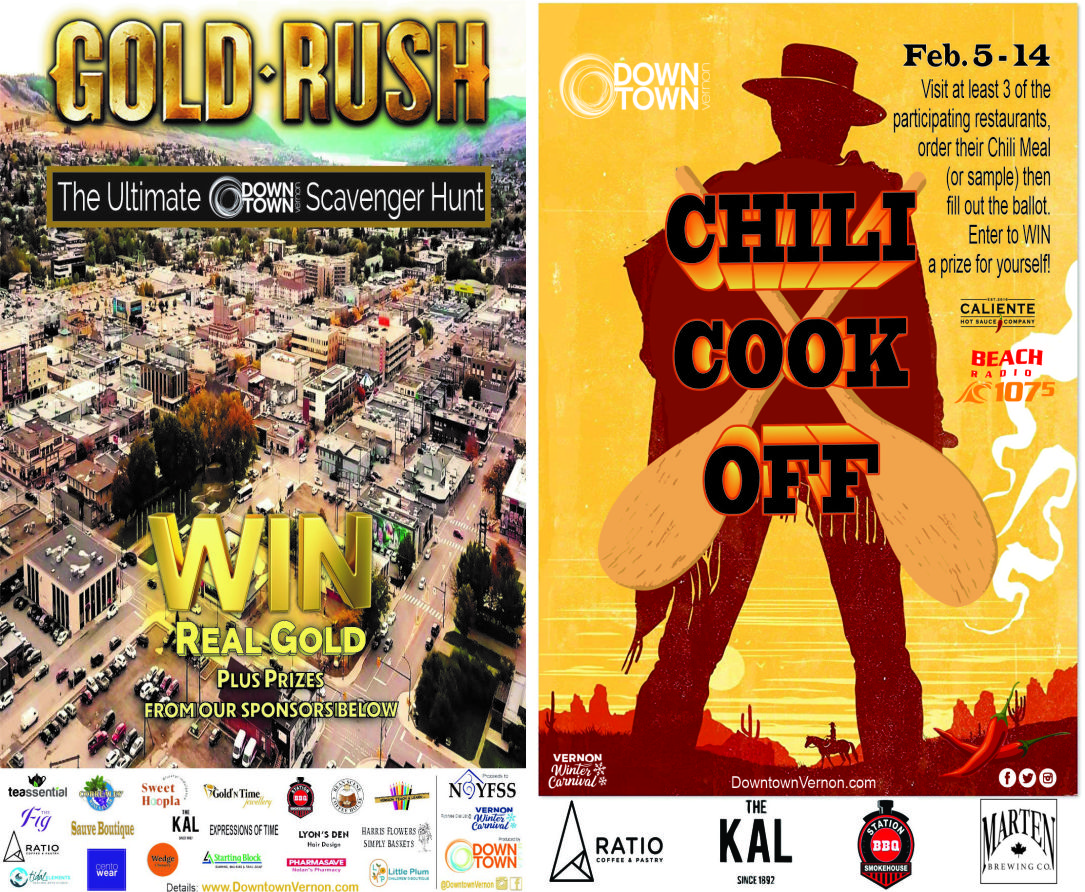 Chili Cook Off / Gold Rush Scavenger Hunt.