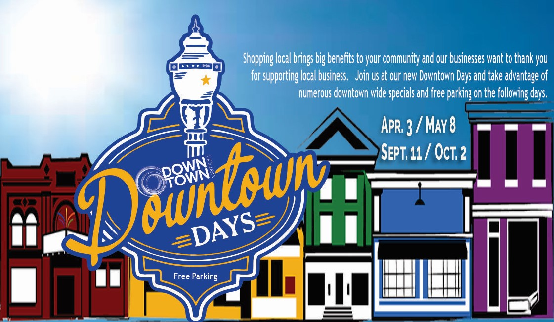 Downtown Days in Vernon BC. April 3, May 8, Sept. 11 & Oct. 2, 2021.