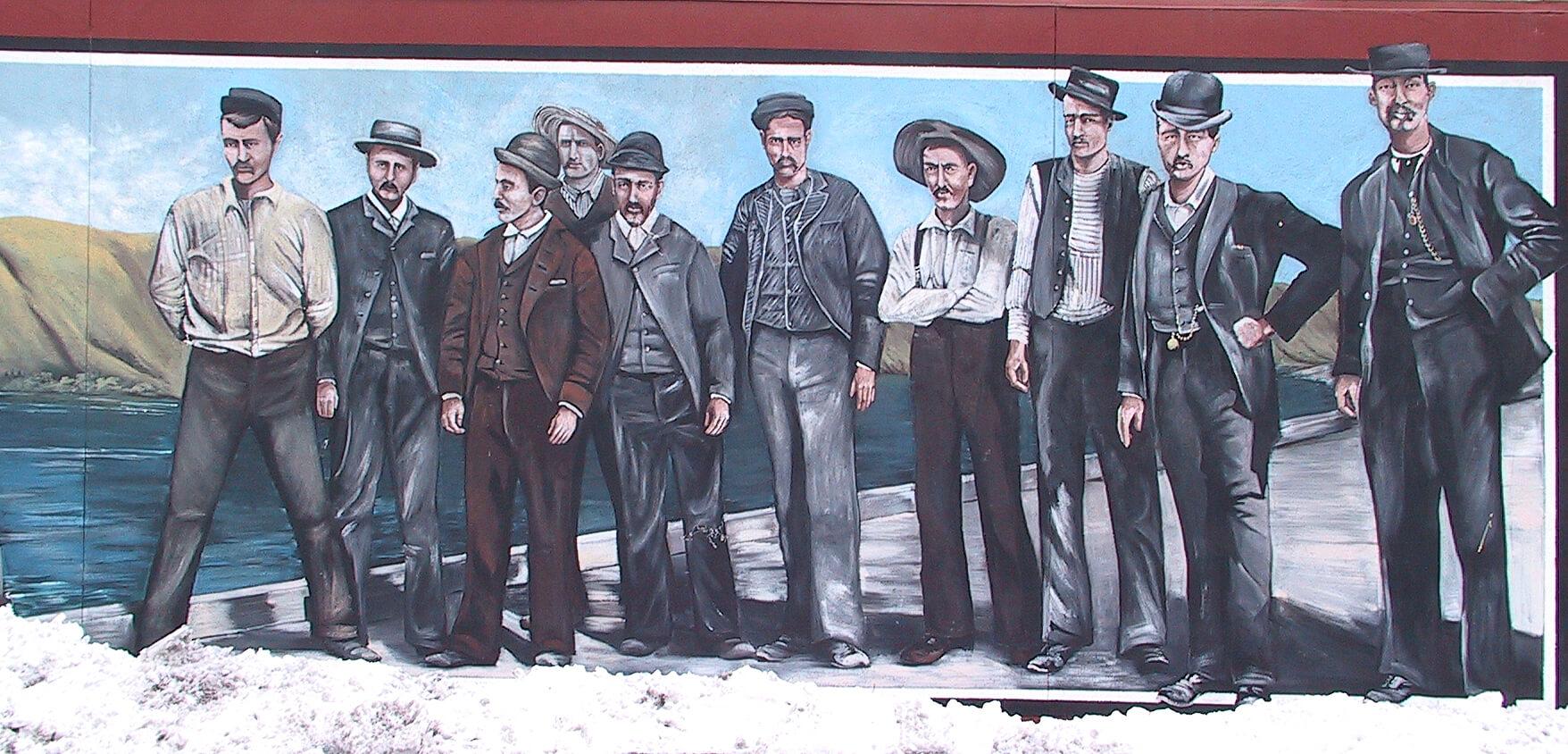 Crew of the S.S. Penticton