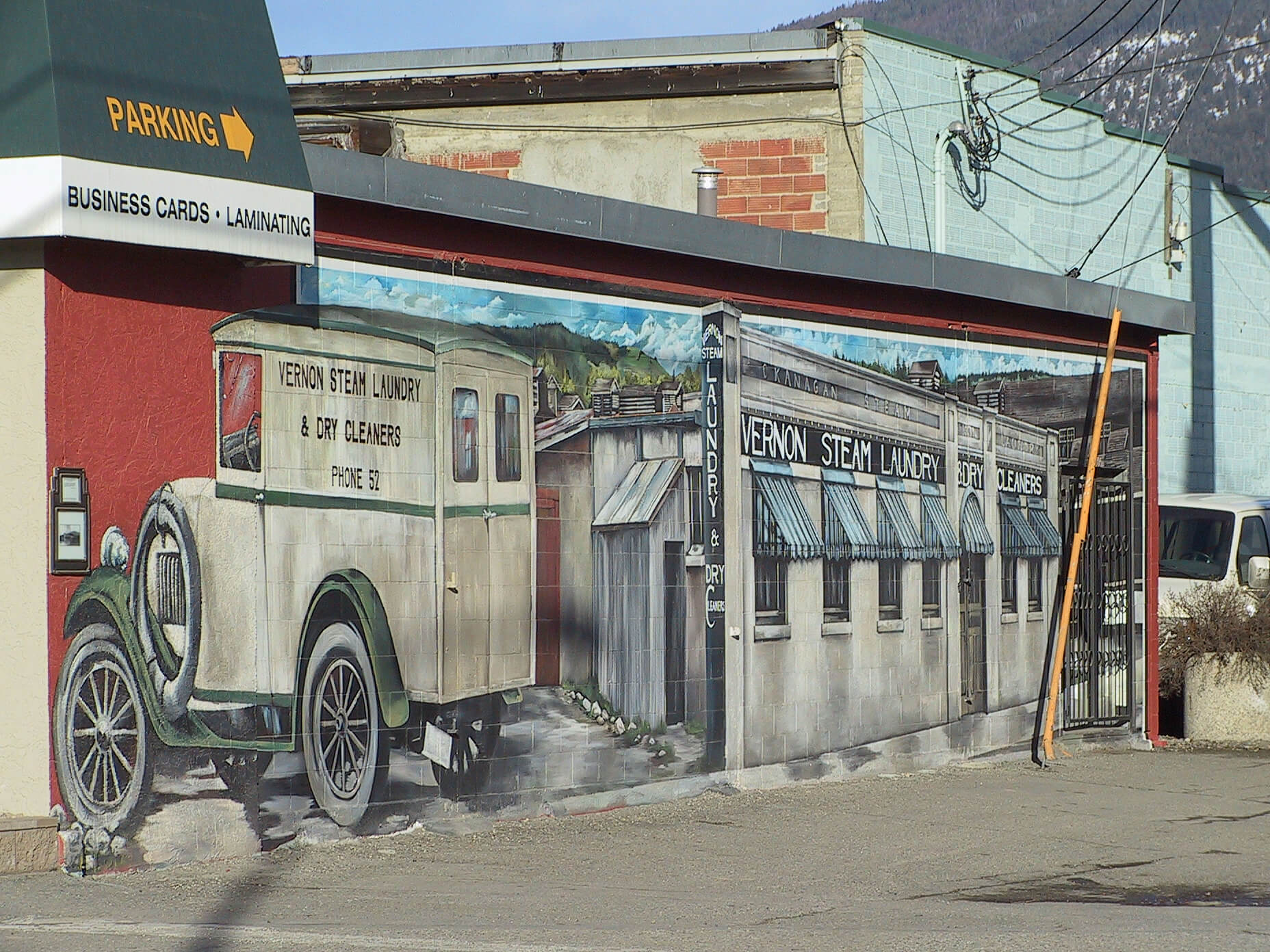 Vernon Steam Laundry